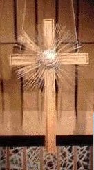 image: Church of the Resurrection altar cross