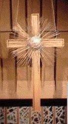 Image: Church of the Resurrection altar cross